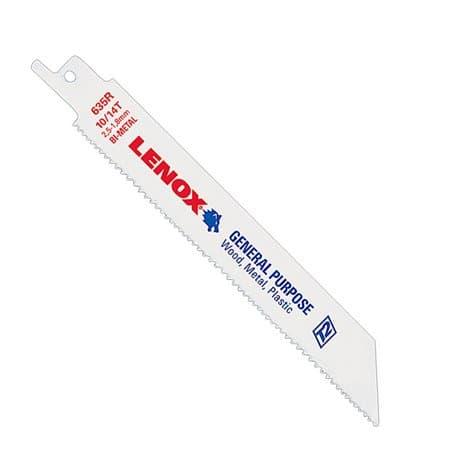 Lenox 14TPI Bi-Metal Reciprocating Saw Blade, 8''