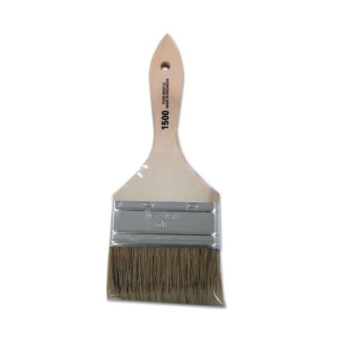 "Linzer 3"" White Chinese Bristle Chip Brush"