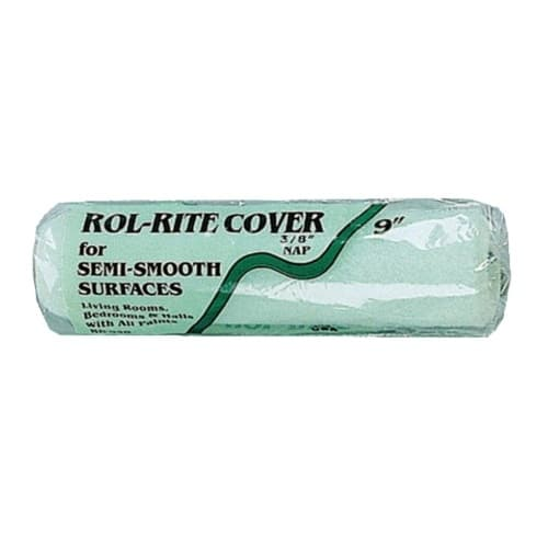 Linzer 9-in Paint Roller Cover for 3/8-in Nap, Knit Fabric, Green