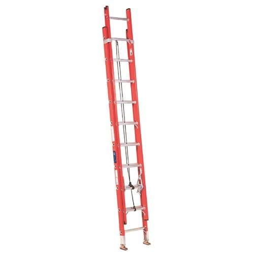 Louisville Ladder Fiberglass Channel Extension Ladder