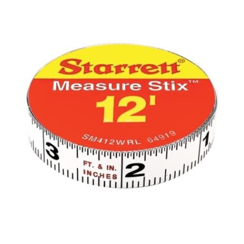 .5-in X 12-ft Steel Measuring Tape