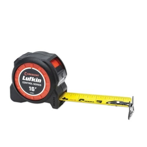 1.19-in x 25-ft Tape Measurer, Yellow