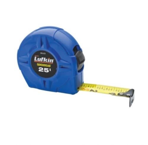 Lufkin 1-in X 25-ft Tape Measure, Blue