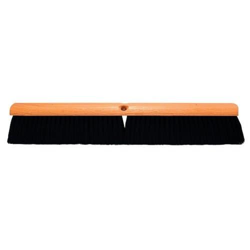 "Magnolia Brush 24"" Black Tampico Floor Brush Without Handle"