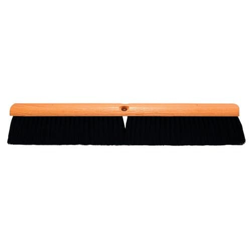 "Magnolia Brush 36"" Black Tampico Floor Brush Without Handle"