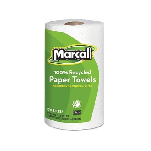 Marcal White, Mega Roll Premium Recycled Paper Towels