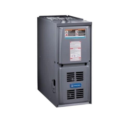 90000 BTU/H Gas Furnace w/ 17.5-in Cabinet, Downflow, 80% AFUE, 1570 CFM, 120V