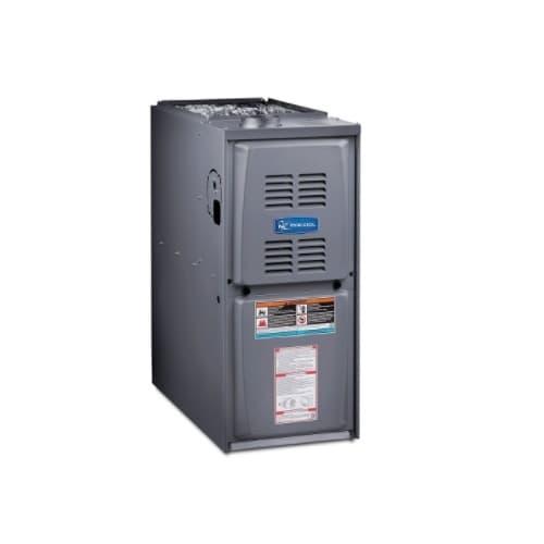 110000 BTU/H Gas Furnace w/ 21-in Cabinet, Upflow, 80% AFUE, 2025 CFM, 120V
