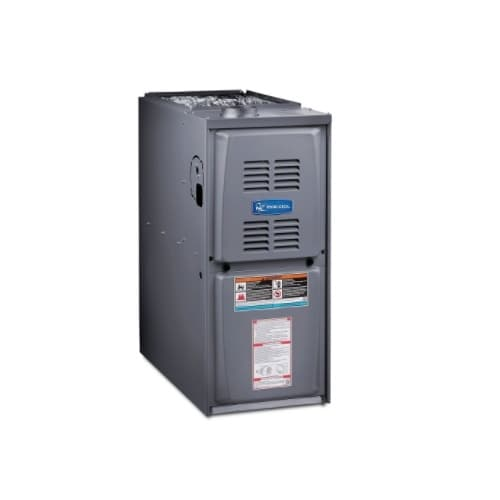 MrCool 135000 BTU/H Gas Furnace w/ 24.5-in Cabinet, Upflow, 80% AFUE, 2240 CFM, 120V