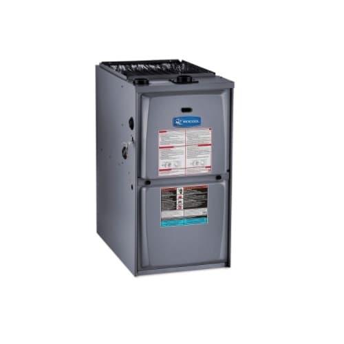 90000 BTU/H Gas Furnace w/ 21-in Cabinet, Upflow, 95% AFUE, 1560 CFM, 120V