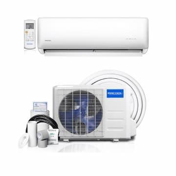 MrCool 3-ft 9000 BTU/H Mini Split Air Conditioner and Heat Pump, 15 Amp, 1-PH, 230V, White