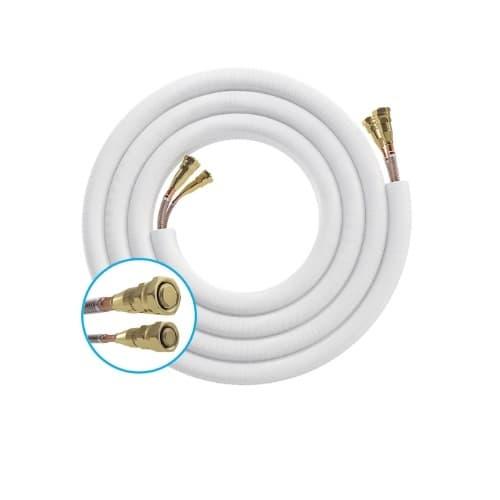 MrCool 25-ft Quick Connect Line Set for 9K, 12K & 18K BTU DIY Series Air Handler