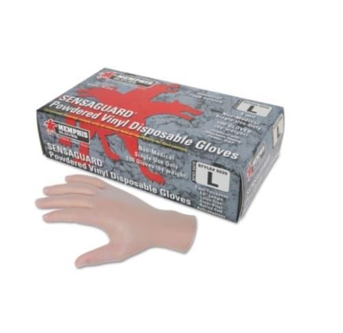 Memphis Glove 5 Mil Medium Disposable Vinyl/Latex Gloves
