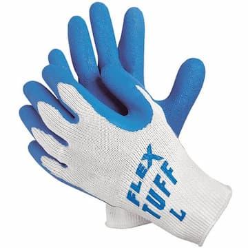 Memphis Glove Large 10 Gauge Premium Latex Coated String Gloves