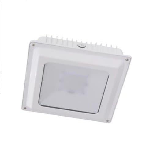 Magnalux 45W LED Canopy Light, 250W MH Retrofit, 5000 lm, 5000K, 100V-277V, White