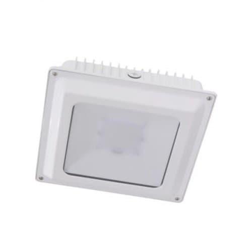 Magnalux 75W LED Canopy Light, 250W MH Retrofit, 8200 lm, 5000K, 100V-277V, White