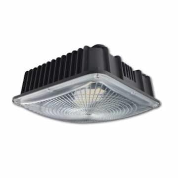 Magnalux 45W LED Canopy Light, 150W MH Retrofit, 5400 lm, 5000K, 100V-277V, Black