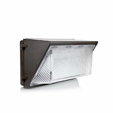 Magnalux 100W LED Wall Pack, Semi Cut Off, 5000K