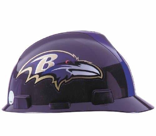 MSA Baltimore Ravens Officially-Licensed NFL V-Gard Helmets