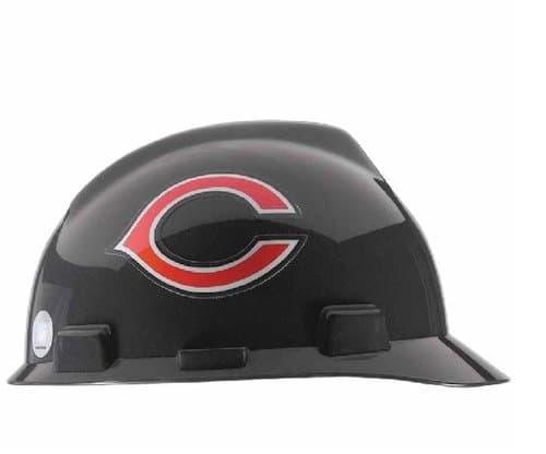 MSA Chicago Bears Officially-Licensed NFL V-Gard Helmets