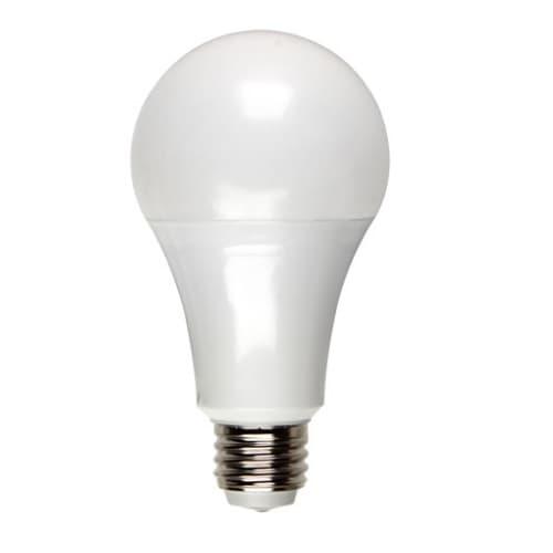21W LED A21 Bulb, Three Way, E26, 2200 lm, 120V-277V, 3000K