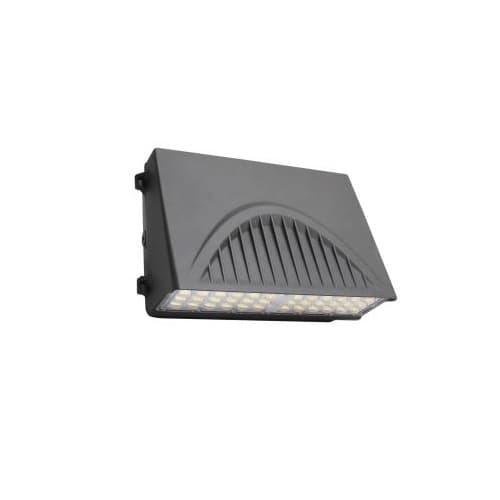 MaxLite 70W Full Cut-Off LED Wall Pack & Sensor, 8400 lm, 120V-277V, Selectable CCT