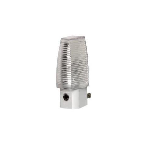 0.3W LED Dusk to Dawn Plug-In Night Light, 15 Amp, 120V, 3000K