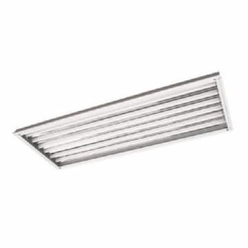 LED T8 Lamp Ready High Bay Fixture, 6 Lamps