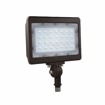 NaturaLED 50W LED Flood Light w/Knuckle Mount, 5763 lm, 5000K