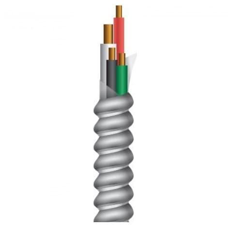 250-ft Copper Conductor Cable Coil, MC Standard, 150 lb Max Capacity, Brown, Purple, Gray