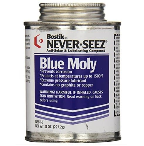 16 oz Blue Moly Compounds  w/ Brush Top