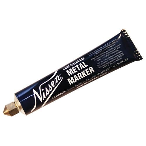 Nissen  Low Chloride Metal Whiteball Point Markers