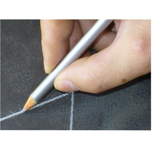 Nissen  Fine Tip Sharpened Silver Welder's Pencil