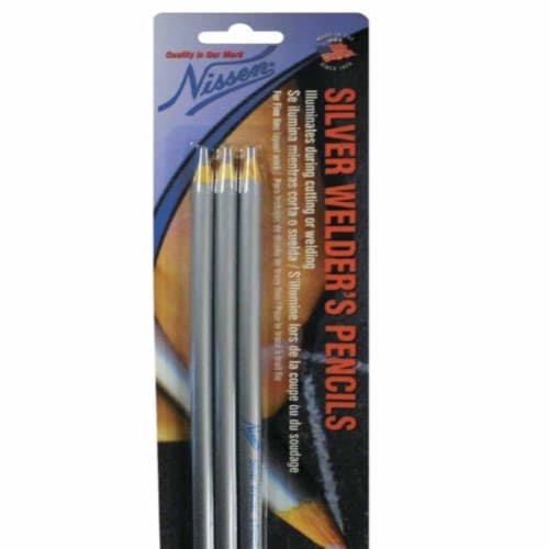Nissen  Welder's Pencils, 3-pack, Silver