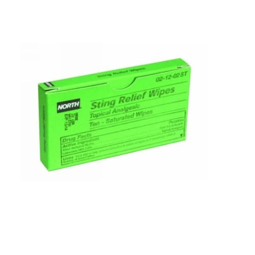 Sting Relief Wipes, 6% Benzocaine