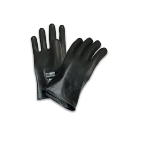 North Safety  Butyl™ Gloves, Size 9, Black