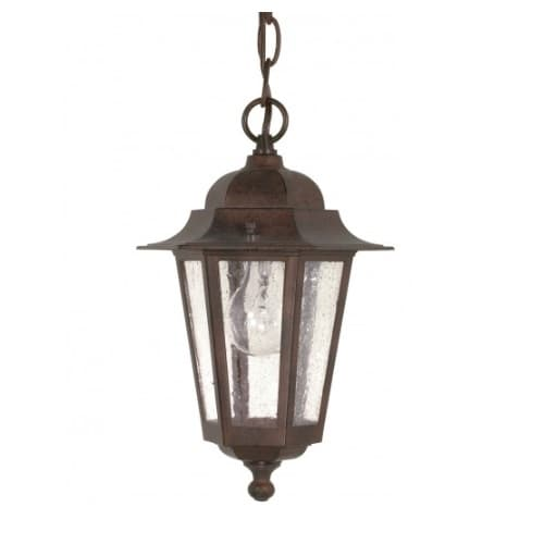 "Cornerstone, 13"" Hanging Lantern Light,  Old Bronze Finish"