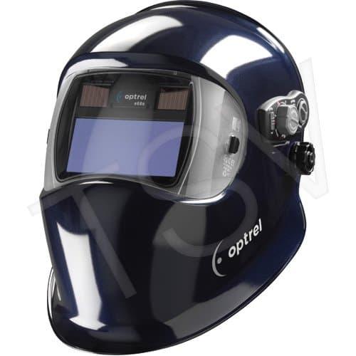 """Optrel 2"""" x 4"""" Welding Helmet with IP76 Water Resistance, Dark Blue"""