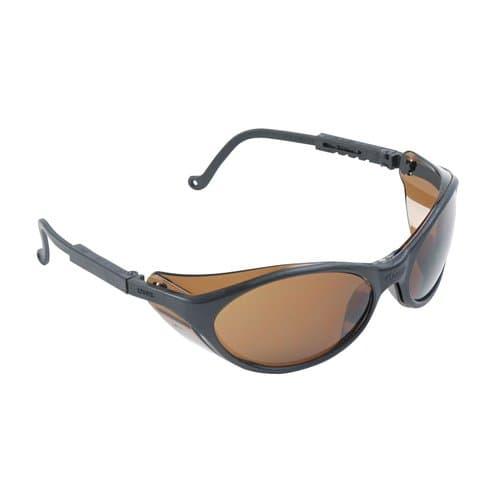 Uvex Black Frame Espresso Lens Bandit Eyewear
