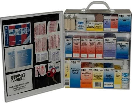 Pac-Kit 3-Shelf Industrial First Aid Station