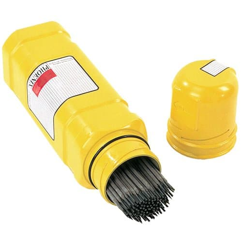 """Phoenix 14"""" Yellow Safetube Rod Containers"""