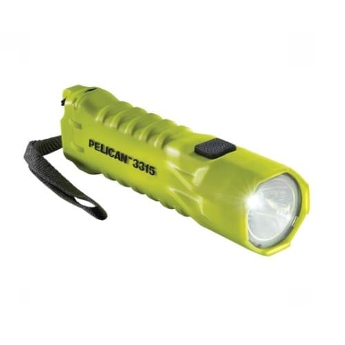 LED Flashlight, 3rd Generation, Yellow