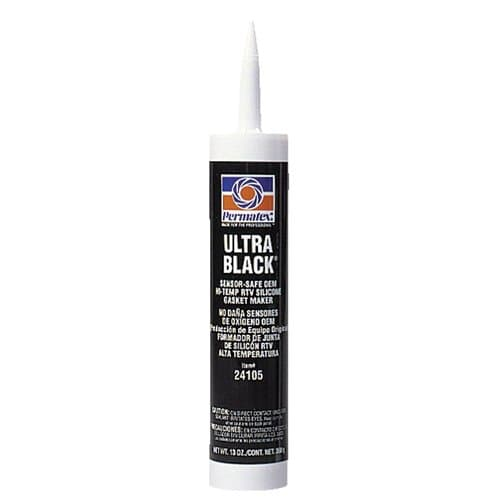 Permatex Ultra Series RTV Silicone Gasket Maker, 13 oz. Cartridge, Black