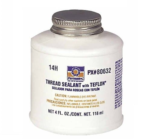 Permatex 4 Ounce White Thread Sealant Can w/ PTFE