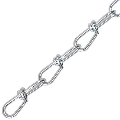 Peerless Twin Loop Steel Chains Zincplated