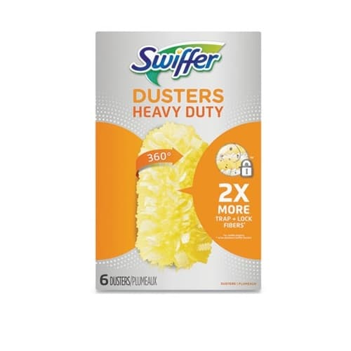 Procter & Gamble Heavy Duty Duster Refill, Yellow, 6-Pack