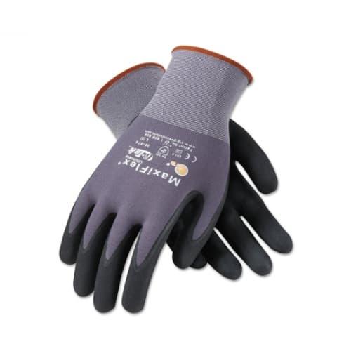 PIP MaxiFlex Ultimate Gloves, Medium, Black & Gray