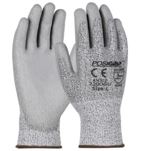 HPPE Blended Glove w/ Polyurethane Coated Palm & Fingers, Large