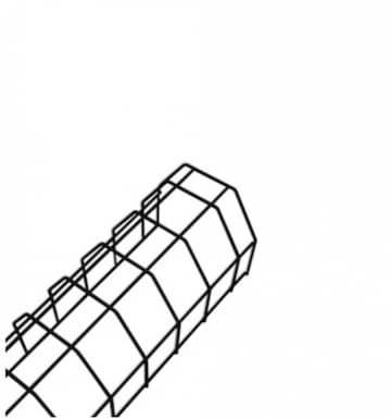 NovaLux Wire Guard for 4ft Strip Fixture, Black