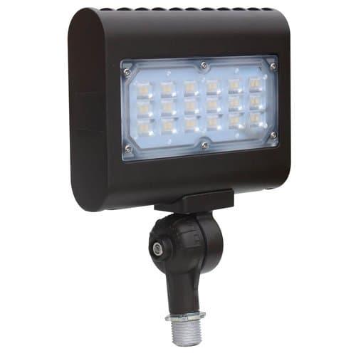 NovaLux 15W Mini LED Flood Light, 1500 lm, 120V-277V, 4000K, Bronze